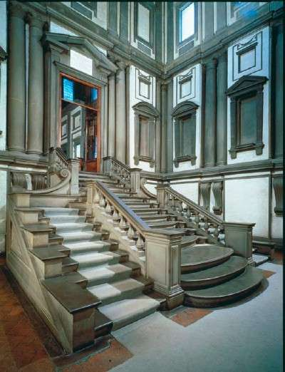 michelangelo-buildings-or-Laurentian-Library-Florence-Italy
