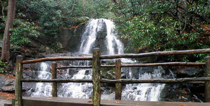 Laurel-Falls-Great-Smoky-Mountain-National-Park