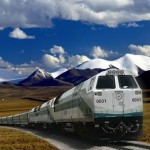 china-train-service-looks-excellent-under-blue-sky