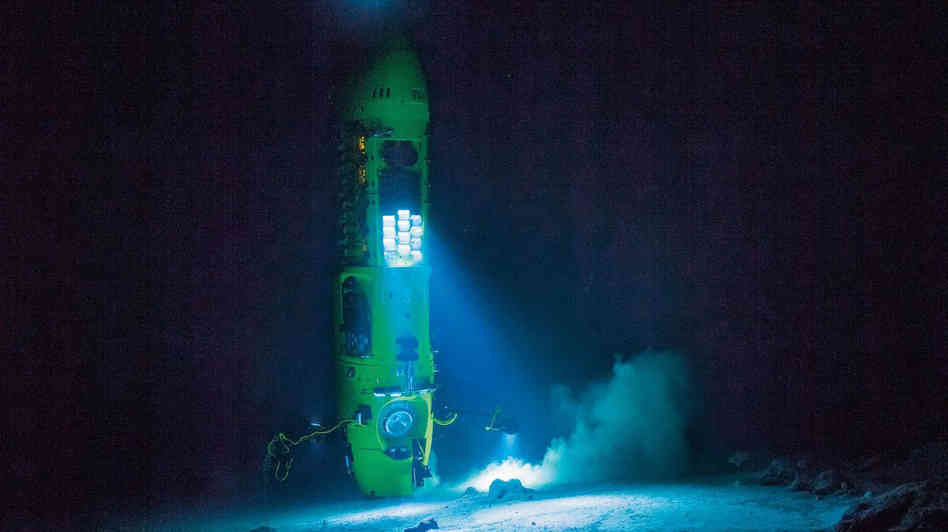 deep challenge james cameron Odyssey mariana trench