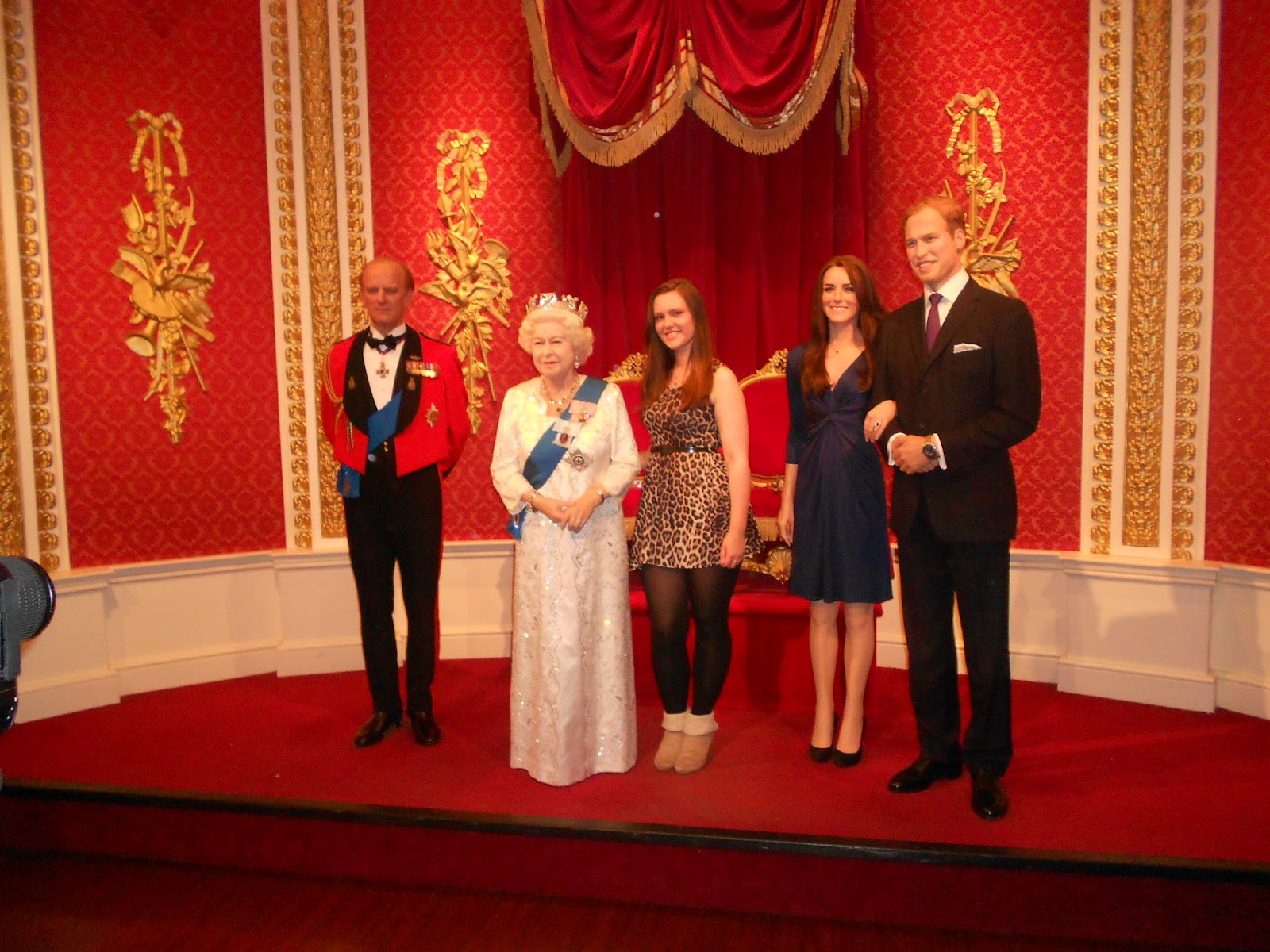 British-royal-family-Wax-Statue-in-Madame-Tussauds-London