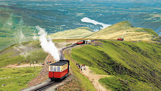 Snowdonia-Mountain-Railway-beautiful-view