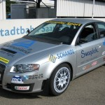 Audi-A4-beats-Bugatti-fastest-car-in-world-run-by-biogas