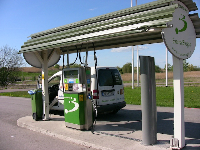 biogas-fill-station
