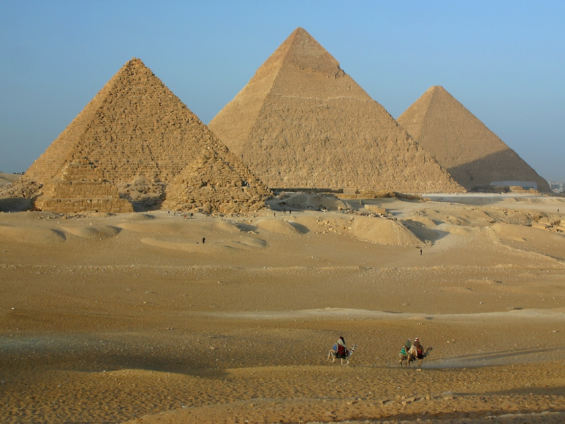 Great-pyramids-of-Giza