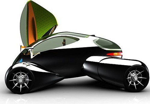 A-three-seater-car-powered-by-lithium-batteries