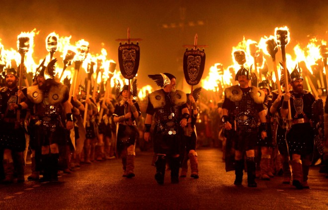 Up-helly-aa-fire-festival