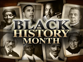 'February is black history of month'