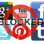 China banned social networking & some specific websites