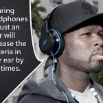 If we wearing headphones for one hour then there 700 times increase the bacteria