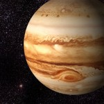 The Jupiter is made by gases