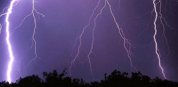 The Lightning strikes about 6,000 times in a minute in the earth