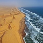 Namibia Africa – Where The Desert Sand Dunes Meets The Sea Water Waves