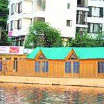 Floatin-post-office-dal lake