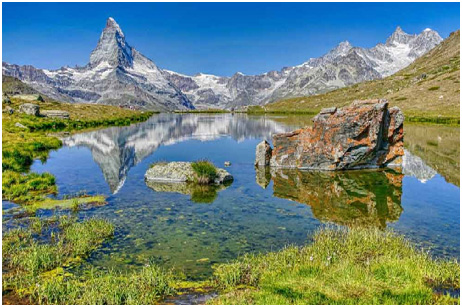 glaciers Lakes