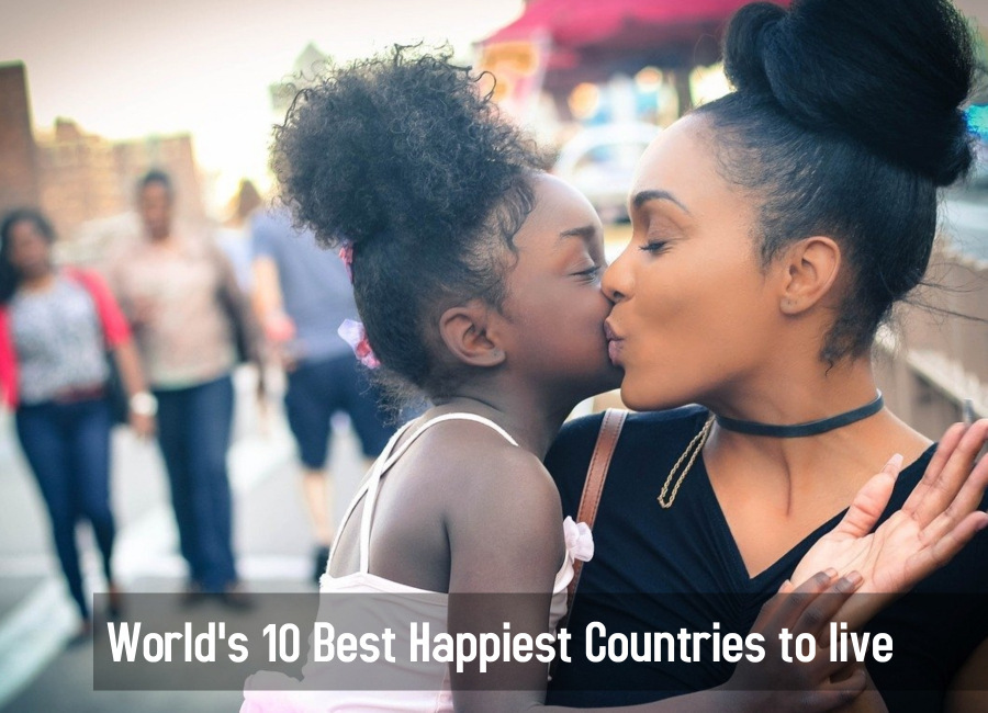 10 best happiest countries to live