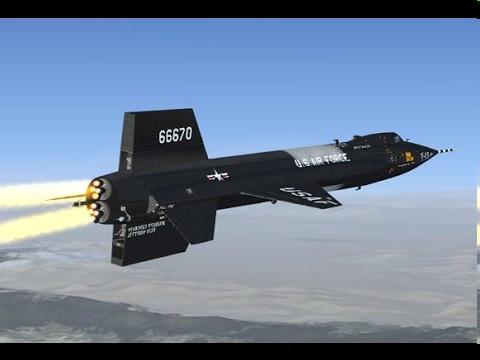 North American X-15 Mach 6.85