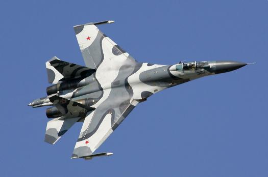Sukhoi Su-27 flanker - Super fast fighter plane 1