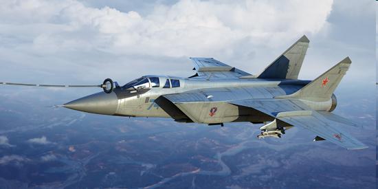 MiG-31 fighter 1970 -1980