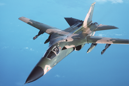 F-111, the world's tenth fastest aircraft